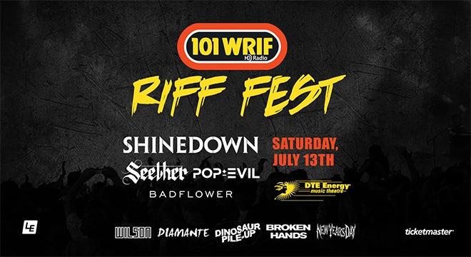 101 WRIF PRESENTS RIFF FEST 2019
