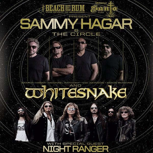 More Info for Sammy Hagar & The Circle and Whitesnake