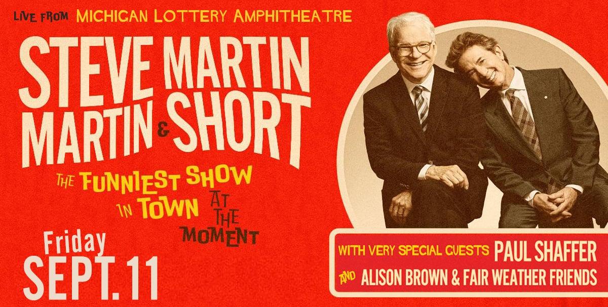 CANCELLED: Steve Martin & Martin Short